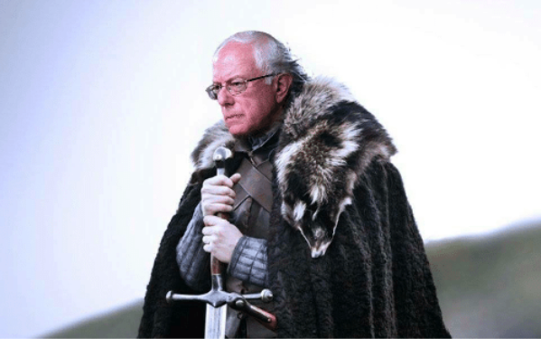 Winter Is Coming. Bernie's Campaign is the Most Resilient and Battle-Ready.