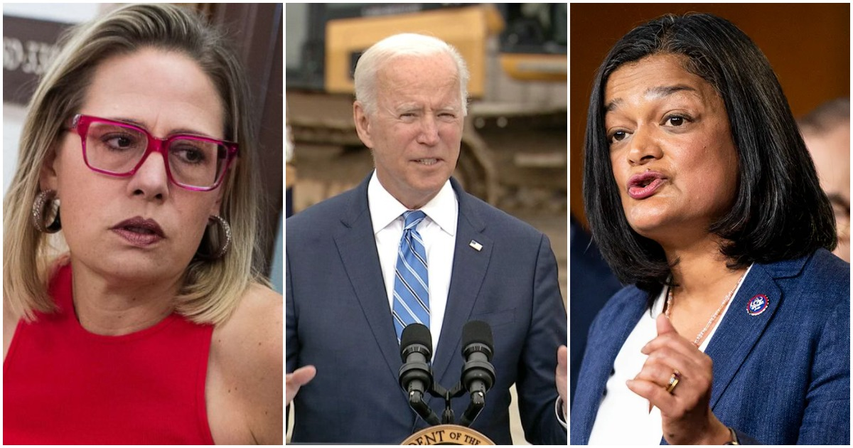 Progressives' True Test Arrives as Biden Signals Major InfrastructureCompromise